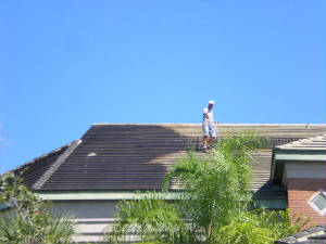 Commercial Tile Roof Cleaning